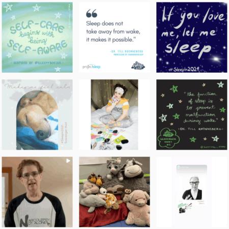 #SleepIn2021 on Instagram 6