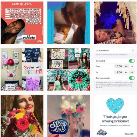 #SleepIn2021 on Instagram